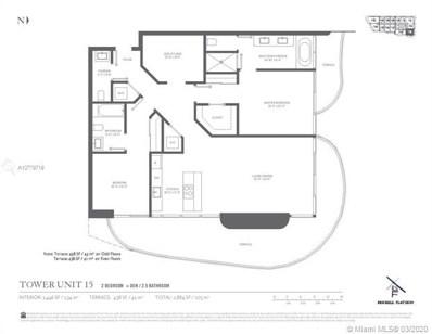 1000 Brickell Plaza UNIT 2515, Miami, FL 33131 - MLS#: A10779719