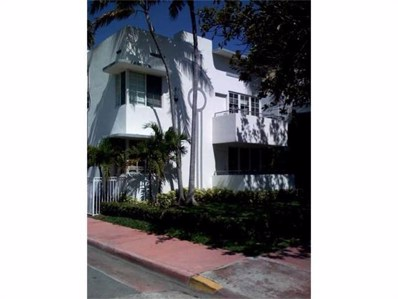 1000 Meridian Av UNIT 21, Miami Beach, FL 33139 - MLS#: A2109286