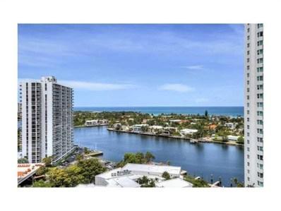 20281 E Country Club Dr UNIT 1412, Aventura, FL 33180 - #: A2118825