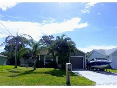 1813 S 27th Street, Fort Pierce, FL 34947 - MLS#: R10346627