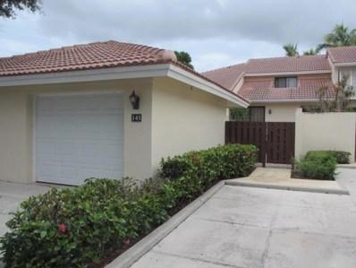 145 Old Meadow Way, Palm Beach Gardens, FL 33418 - MLS#: RX-10264233