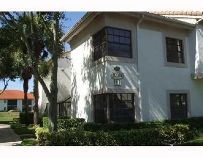 5463 Verona Drive UNIT G, Boynton Beach, FL 33437 - MLS#: RX-10282663