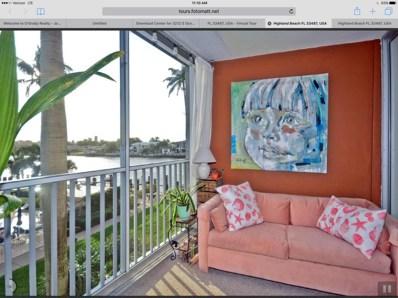 3212 S Ocean Boulevard UNIT 304-A, Highland Beach, FL 33487 - MLS#: RX-10296988