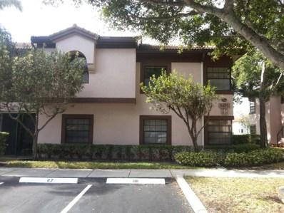5475 Verona Drive UNIT M, Boynton Beach, FL 33437 - MLS#: RX-10299615