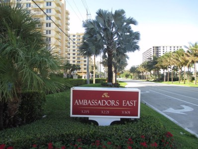 3301 S S Ocean Boulevard S UNIT 310, Highland Beach, FL 33487 - MLS#: RX-10301646