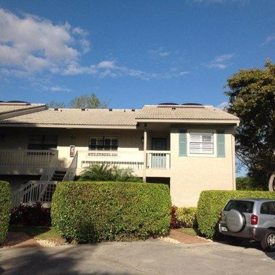 61 Eastgate Drive UNIT H, Boynton Beach, FL 33436 - MLS#: RX-10318791