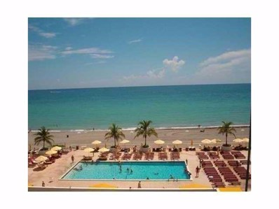 1880 S Ocean Drive UNIT 407, Hallandale Beach, FL 33009 - MLS#: RX-10320128
