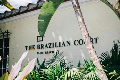 301 Australian Avenue UNIT 203, Palm Beach, FL 33480 - MLS#: RX-10320980