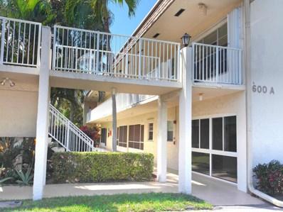 600 Snug Harbor Drive UNIT A20, Boynton Beach, FL 33435 - MLS#: RX-10321798