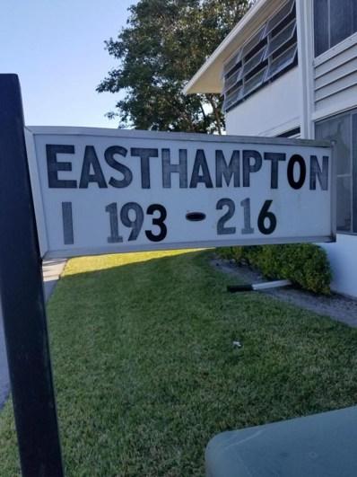 205 Easthampton UNIT I, West Palm Beach, FL 33417 - MLS#: RX-10324620