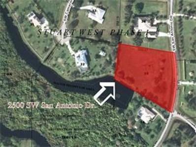 2500 SW San Antonio Drive, Palm City, FL 34990 - MLS#: RX-10331241