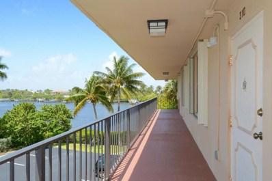 3545 S Ocean Boulevard UNIT 310, South Palm Beach, FL 33480 - MLS#: RX-10336432