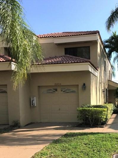 2204 Aspen Way, Boynton Beach, FL 33436 - MLS#: RX-10338961
