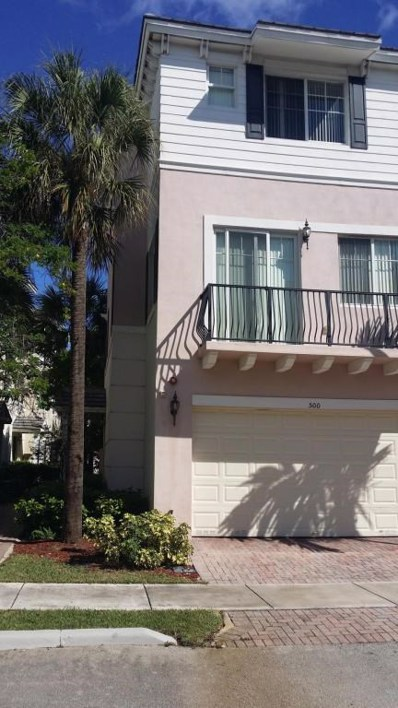 500 NW 39th Circle, Boca Raton, FL 33429 - MLS#: RX-10340313