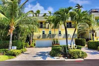 1107 Russell Drive UNIT A, Highland Beach, FL 33487 - MLS#: RX-10343699