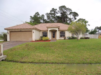1699 SW Mercedes Avenue, Port Saint Lucie, FL 34953 - MLS#: RX-10344873