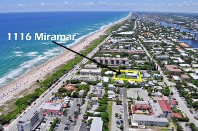 1116 Miramar Drive, Delray Beach, FL 33483 - #: RX-10345383