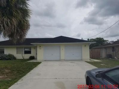1433 SW Algardi Lane, Port Saint Lucie, FL 34953 - MLS#: RX-10345991