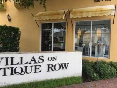3600 S Dixie Highway UNIT 100, West Palm Beach, FL 33405 - MLS#: RX-10346190