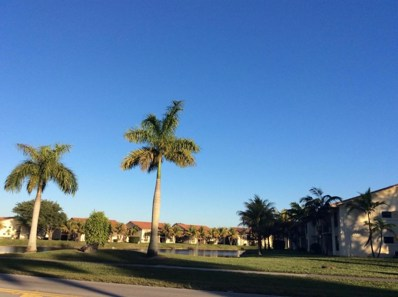 1513 Lake Crystal Drive UNIT G, West Palm Beach, FL 33411 - MLS#: RX-10346216
