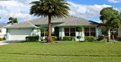 512 SE Majestic Terrace, Port Saint Lucie, FL 34983 - MLS#: RX-10346236