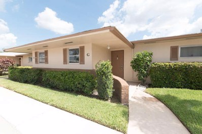 2569 Dudley Drive W UNIT Unit G, West Palm Beach, FL 33415 - MLS#: RX-10346716