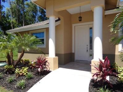 2909 SE Bella Road, Port Saint Lucie, FL 34984 - MLS#: RX-10348150