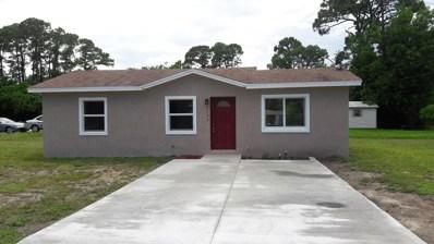 1303 N 35th Street, Fort Pierce, FL 34947 - MLS#: RX-10349198