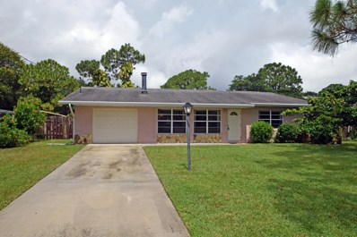 6013 Tangelo Drive, Fort Pierce, FL 34982 - MLS#: RX-10351017