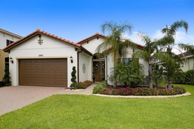 2891 Bellarosa Circle, Royal Palm Beach, FL 33411 - MLS#: RX-10351800