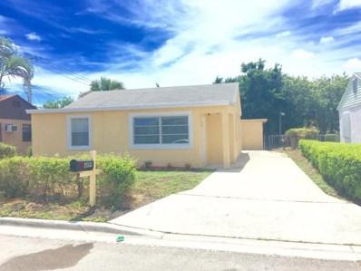 609 W 3rd Street, Riviera Beach, FL 33404 - MLS#: RX-10354255