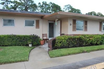 2521 Dudley Drive W UNIT D, West Palm Beach, FL 33415 - MLS#: RX-10354641