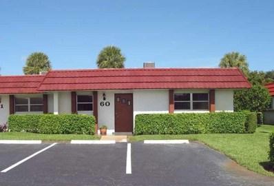 5800 Fernley Drive W UNIT 60, West Palm Beach, FL 33415 - MLS#: RX-10354700