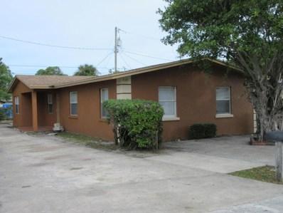 720 W 6th Street, Riviera Beach, FL 33404 - MLS#: RX-10355395