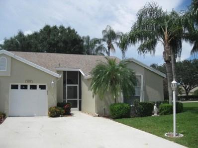 3501 Mill Brook Way Circle, Greenacres, FL 33463 - MLS#: RX-10355406