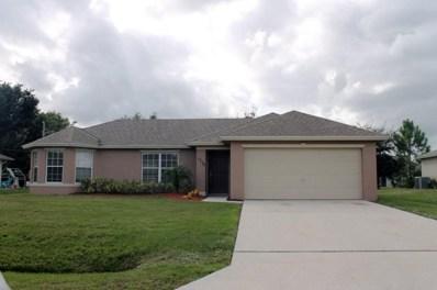 1734 SW Mcallister Lane, Port Saint Lucie, FL 34953 - MLS#: RX-10355448