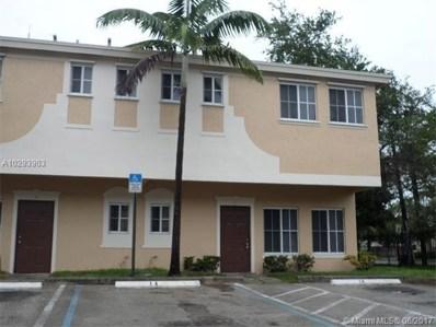 3922 SW 52nd Avenue UNIT A3, Pembroke Park, FL 33023 - MLS#: RX-10356215