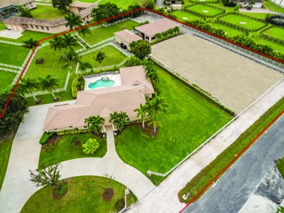14678 Equestrian Way, Wellington, FL 33414 - MLS#: RX-10357093