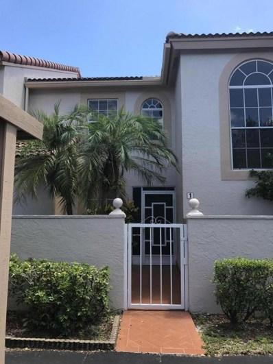 14394 Via Royale Apt 1, Delray Beach, FL 33446 - MLS#: RX-10357593