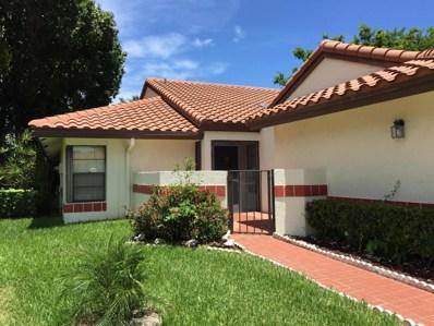 10558 Beach Palm Court UNIT A, Boynton Beach, FL 33437 - MLS#: RX-10357832