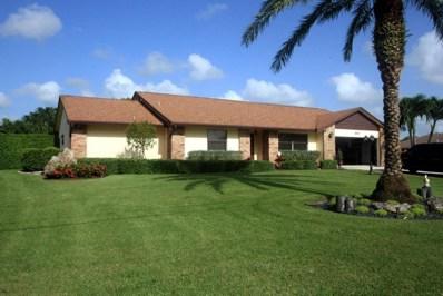 697 Whippoorwill Row, West Palm Beach, FL 33411 - MLS#: RX-10358416