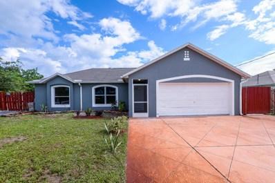 606 SW Saragossa Avenue, Port Saint Lucie, FL 34953 - MLS#: RX-10358417