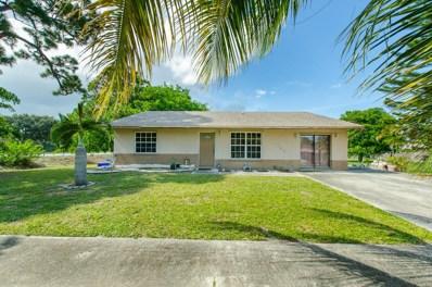 4985 Janelin Road, Lake Worth, FL 33463 - MLS#: RX-10359191