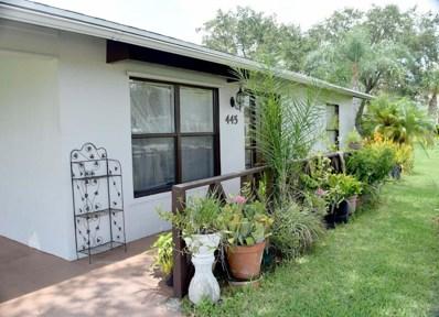 445 SW Dolores, Port Saint Lucie, FL 34983 - MLS#: RX-10359269