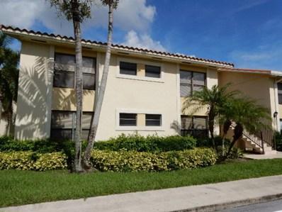 1543 Lake Crystal Drive UNIT A, Royal Palm Beach, FL 33411 - MLS#: RX-10359404