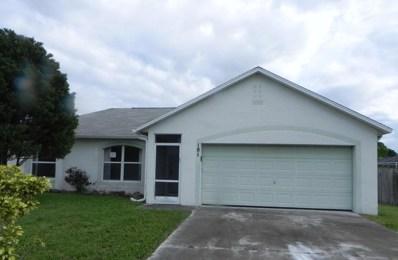 181 SW Ray Avenue, Port Saint Lucie, FL 34983 - MLS#: RX-10359522