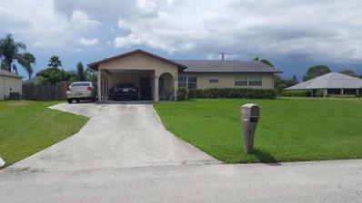148 NW Curtis Street, Port Saint Lucie, FL 34983 - MLS#: RX-10359587