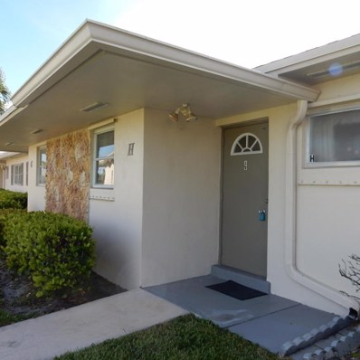2729 Emory Drive E UNIT H, West Palm Beach, FL 33415 - MLS#: RX-10359951