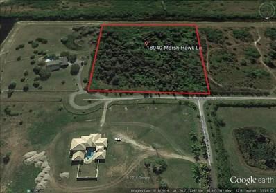 18940 Marsh Hawk Lane, Loxahatchee, FL 33470 - MLS#: RX-10361282