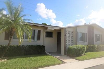 2522 Emory Drive W UNIT K, West Palm Beach, FL 33415 - MLS#: RX-10361501